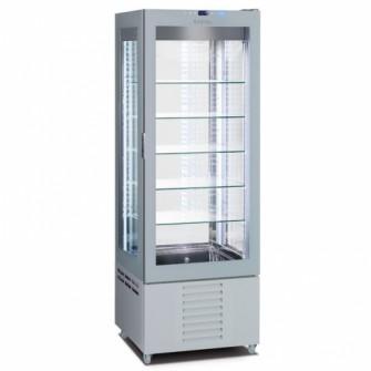 Expositor frigorifico para pastelaria com prateleiras fixas Infrico