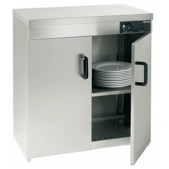 Aquecedor de pratos com capacidade de 110-120 pratos