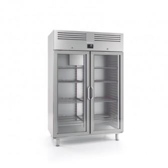 Armário congelação gastronorm 2/1 com porta de vidro Infrico AGB 1402 CR BT