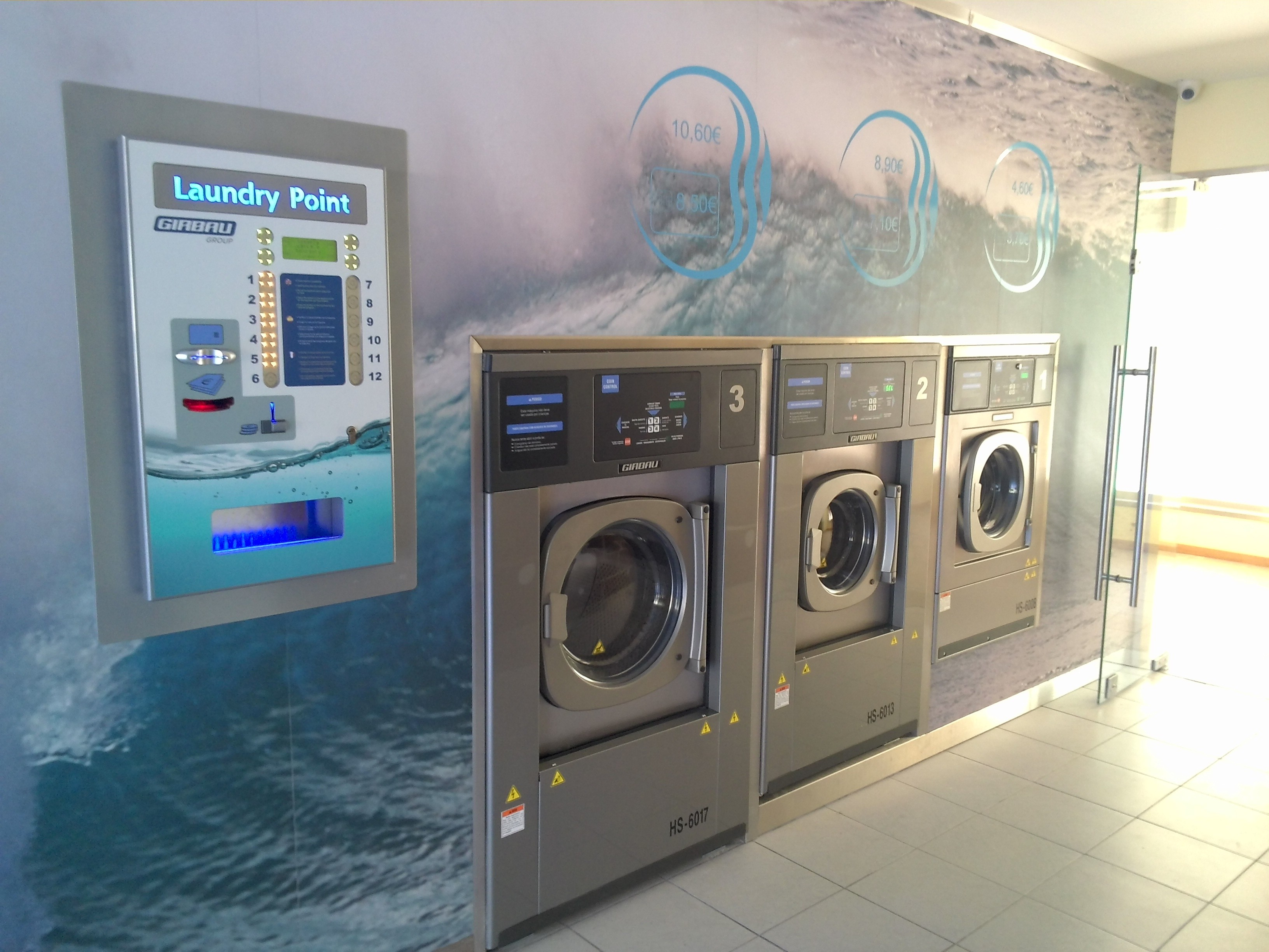 Central de pagamentos laundry pro eduardo verde for Lavanderia self service catania