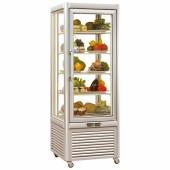 Expositor frigorifico simples para bolos com prateleiras fixas