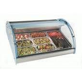 Expositor frigorifico p/Peixe, carne e saladas Sayl XL