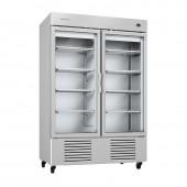 Armário frigorifico com porta de vidro Infrico AN 49 CR