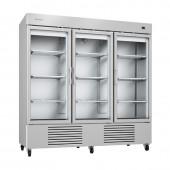 Armário frigorifico com porta de vidro Infrico AN 67 CR