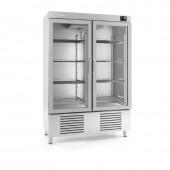 Armário congelação com porta de vidro Infrico AN 1002 BT CR
