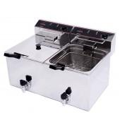 Fritadeira simples 10+10 l com torneira