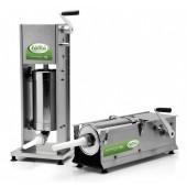 Máquina de enchidos horizontal manual Fama 7 l
