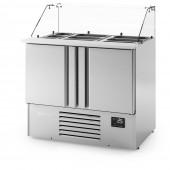 Bancada frigorifica saladete ME 1000 KB Infrico