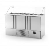 Bancada frigorifica saladete ME 1003 KB Infrico