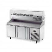 Bancada frigorifica para pizzas MPG 1490 Infrico