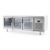 Bancada frigorifica pastelaria euronorma 600x400 serie 800 MR 2190 CR Infrico