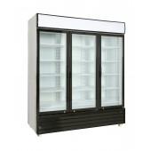 Expositor frigorifico 3 portas em vidro UD1550